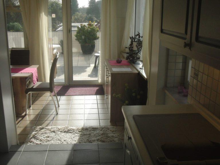 Ferienwohnung Travemünde Haus Katt Küche und Essecke